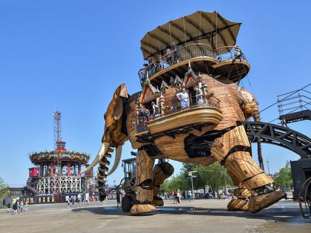 Nantes en famille, parking aéroport, visites avec enfants