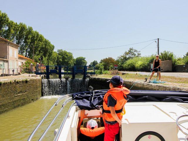 Croisière péniche sur le canal du Midi en Famille