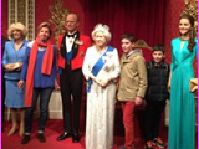 Visiter le musée de Madame Tussauds avec des enfants