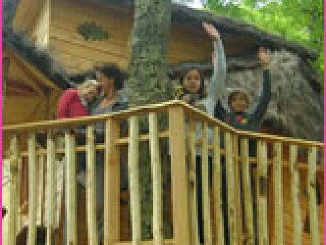 Les Cabanes de Chanteclair: vivez votre rêve d'enfant «dormir dans les arbres»
