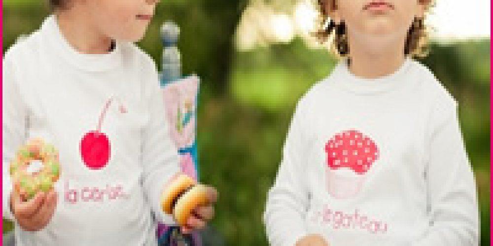 PAR2CMIEUX, la  nouvelle marque de vêtements pour jumeaux, jumelles, et enfants  rapprochés!