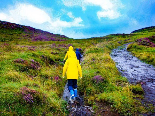 Voyager en Écosse avec des enfants :