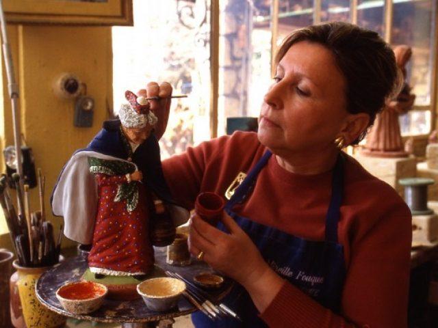 Les traditions de Noël en Provence avec Mireille FOUQUE.