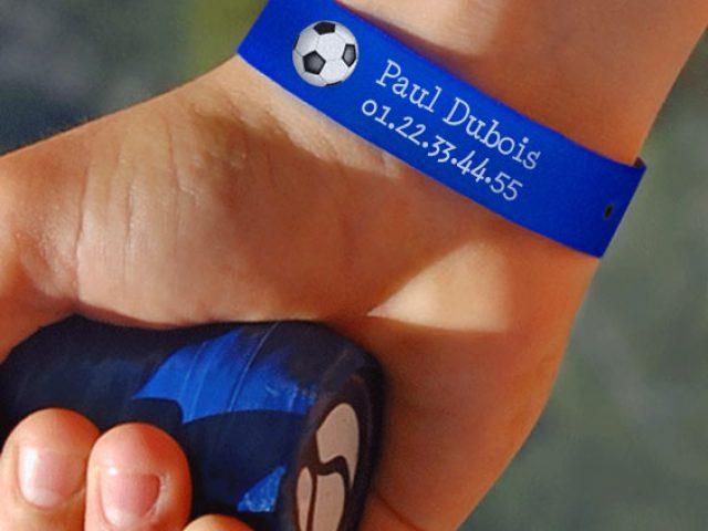 Bracelets stikets pour ne pas perdre ses enfants